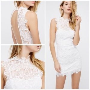 FREE PEOPLE Daydream Lace Bodycon Dress